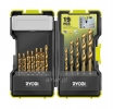RYOBI RAK19HSS ZESTAW WIERTEŁ DO METALU 19PC 5132002258