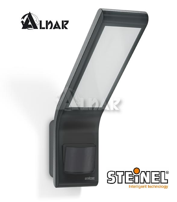 Steinel Xled Slim Lampa Z Czujnikiem Ruchu I Zmierzchu Antracyt 012052